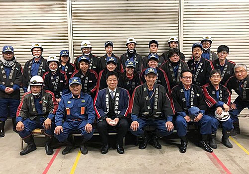 矢掛町消防団01